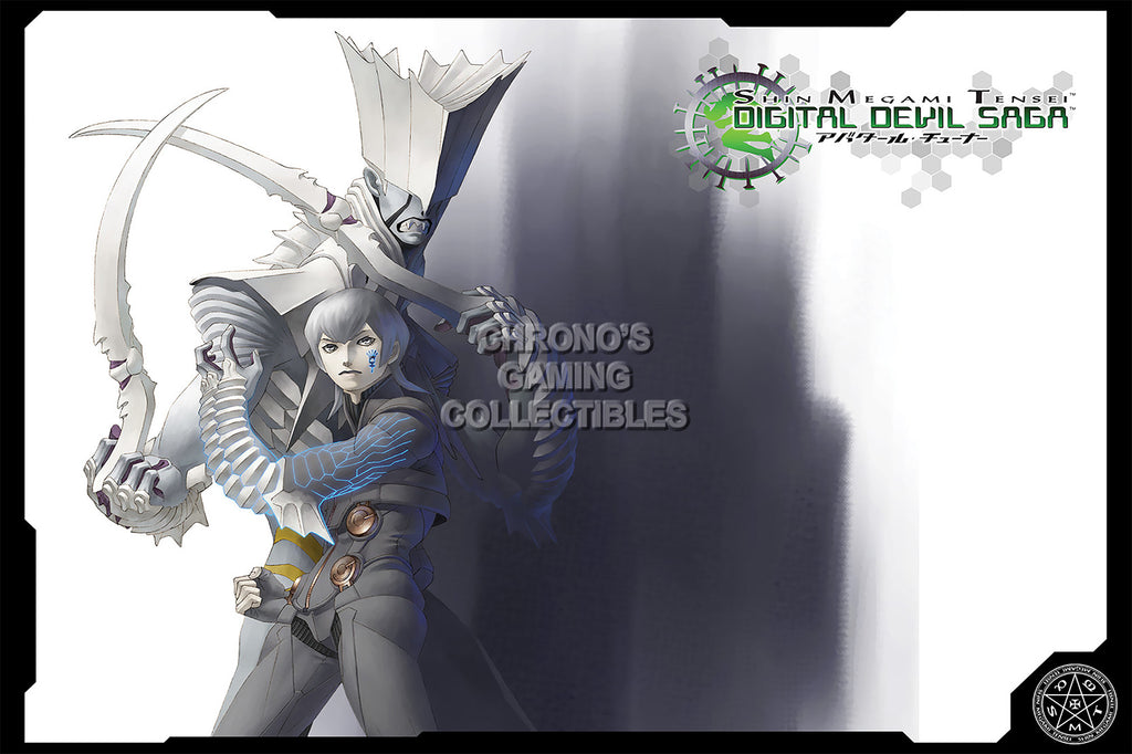 CGC Huge Poster - Digital Devil Saga PS2 - SMT014