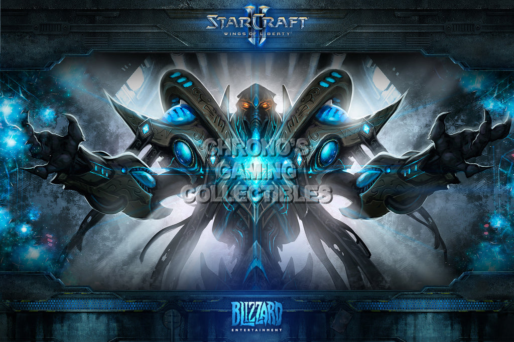 CGC Huge Poster - Starcraft II Wings of Liberty - Protoss - STC016