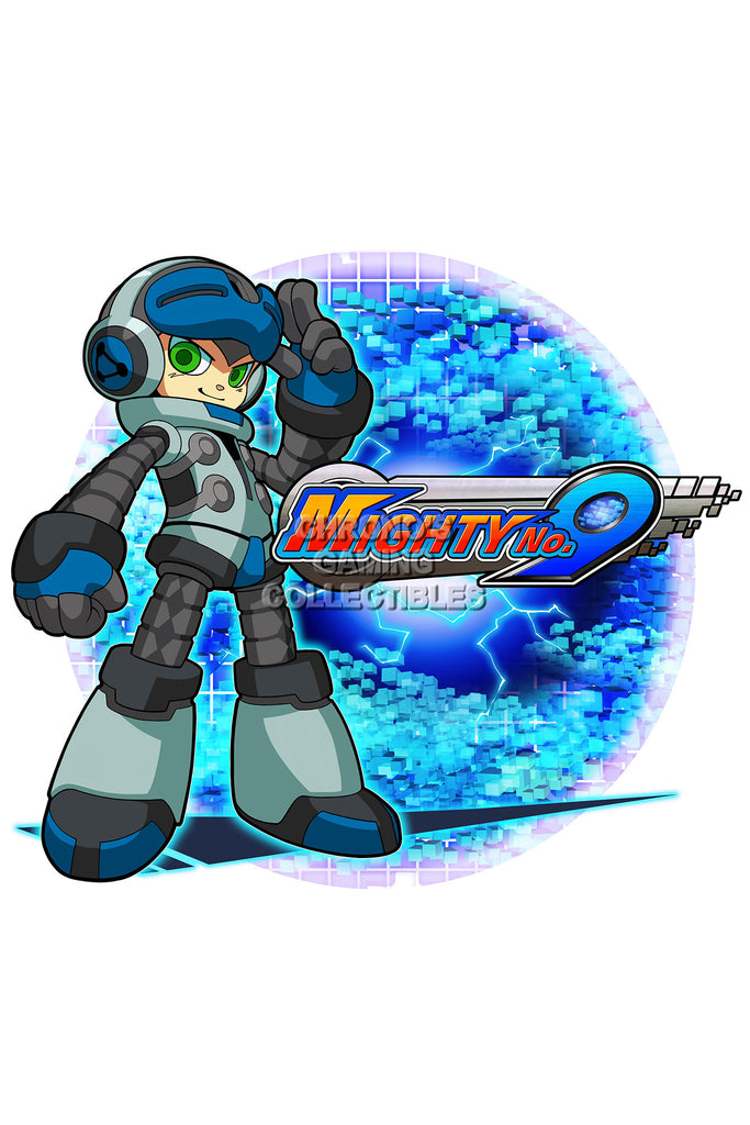 CGC Huge Poster - Mighty No 9 -  PS3 PS4 XBOX 360 ONE Nintendo 3DS WII U - MTN003