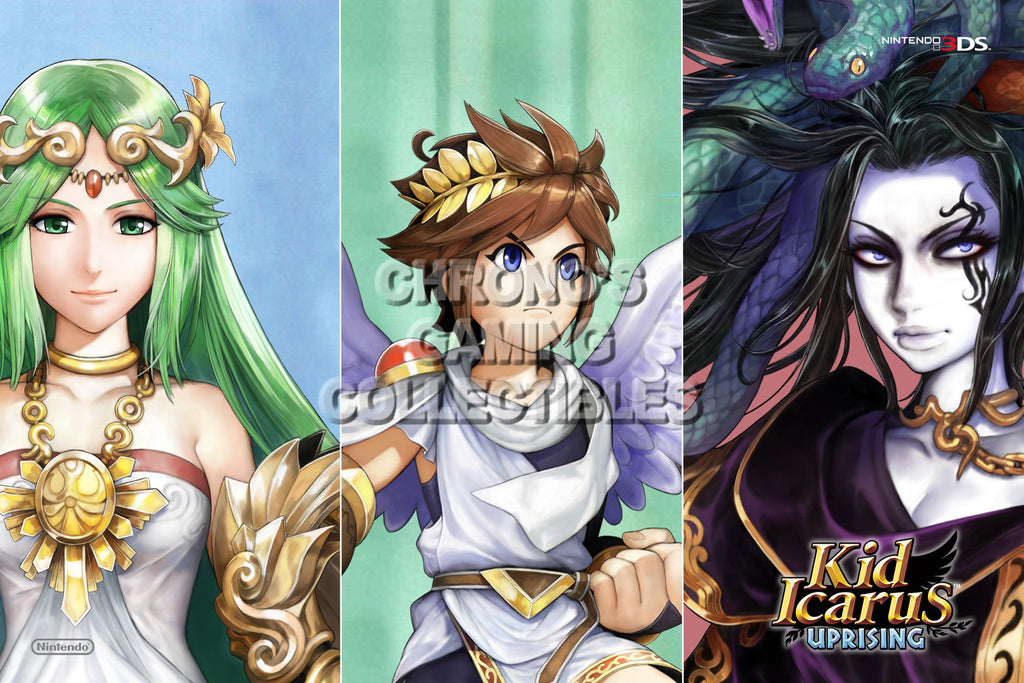 CGC Huge Poster - Kid Icarus Uprising - Nintendo 3DS - KID008