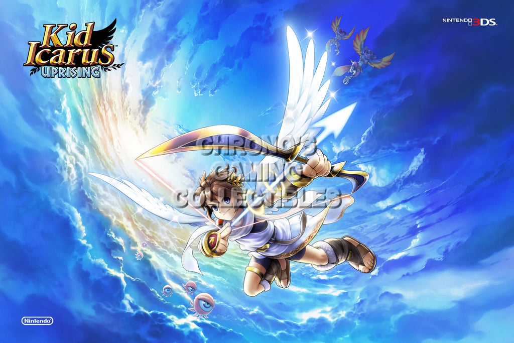 CGC Huge Poster - Kid Icarus Uprising - Nintendo 3DS - KID001