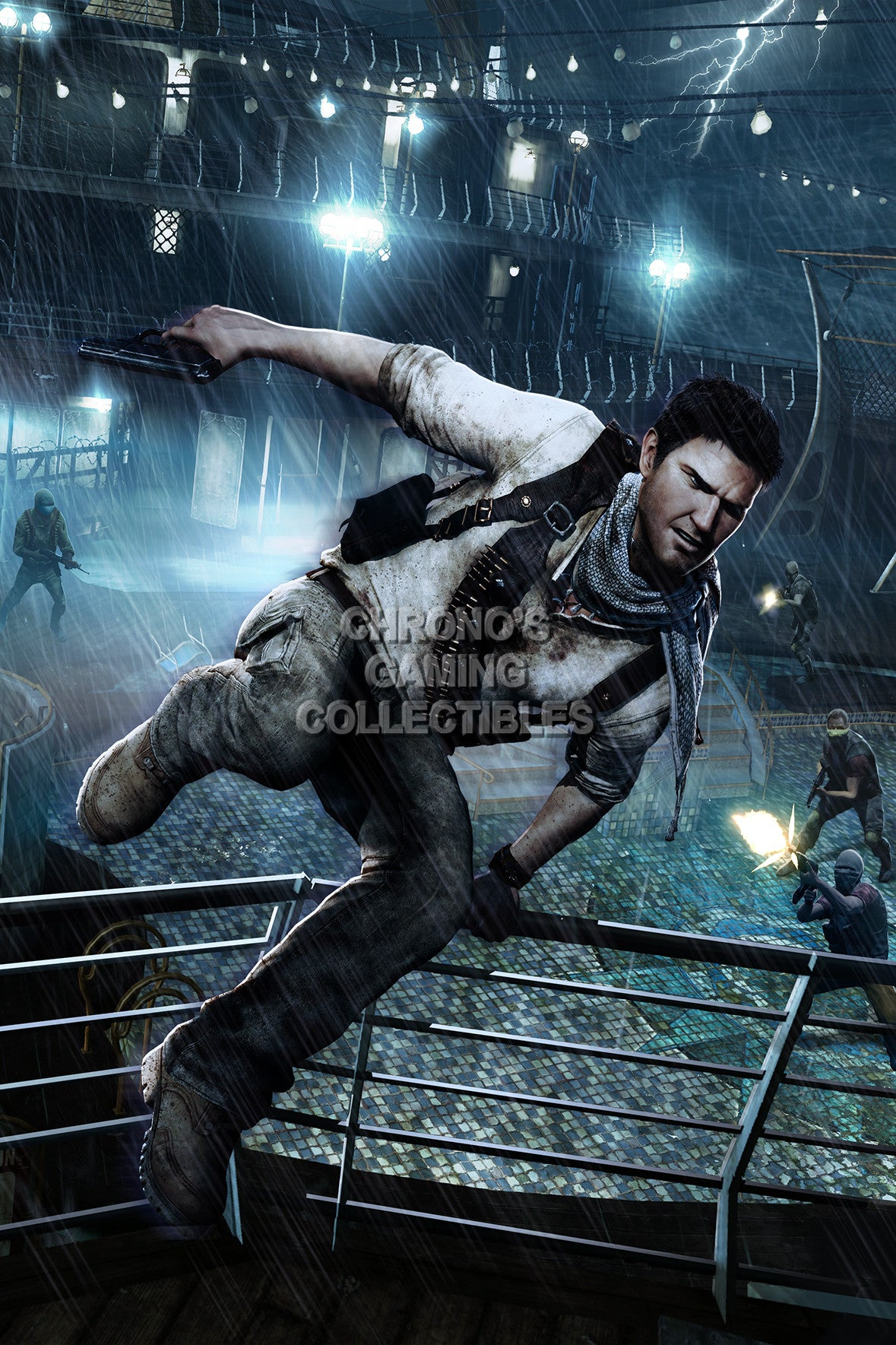 Uncharted Video Games Poster Cgcposters