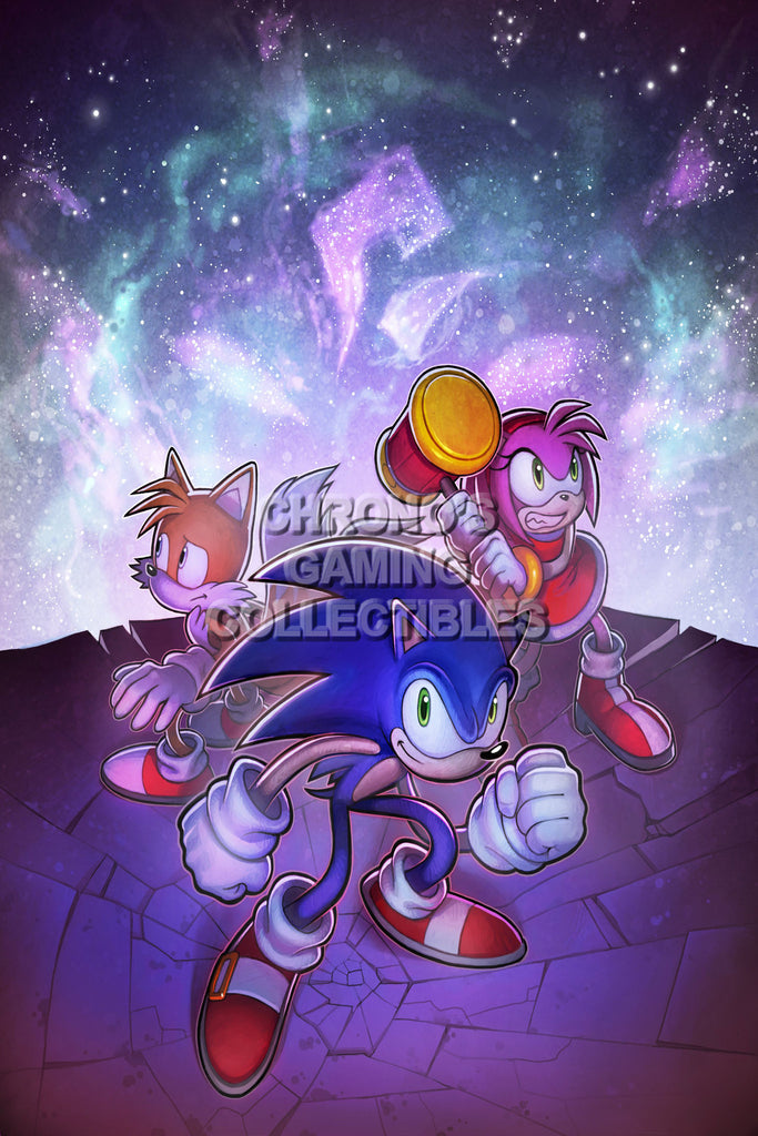CGC Huge Poster - Sonic Chronicles Nintendo DS - SON021