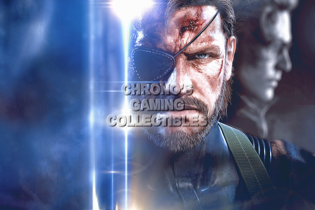 CGC Huge Poster - Metal Gear Solid Big Boss - MGSO06