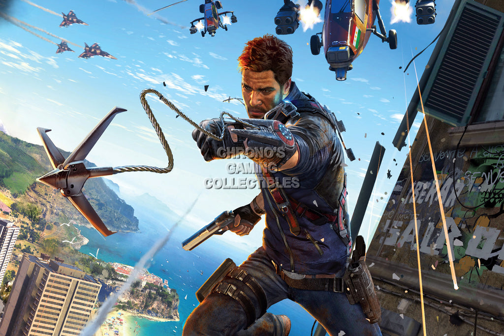 CGC Huge Poster - Just Cause 3 Rico PS3 XBOX 360 PC - JUS008