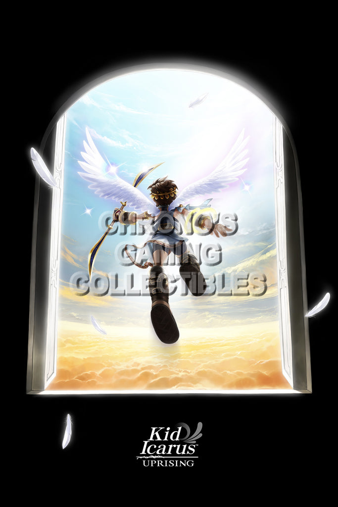CGC Huge Poster - Kid Icarus Uprising - Nintendo 3DS - KID003