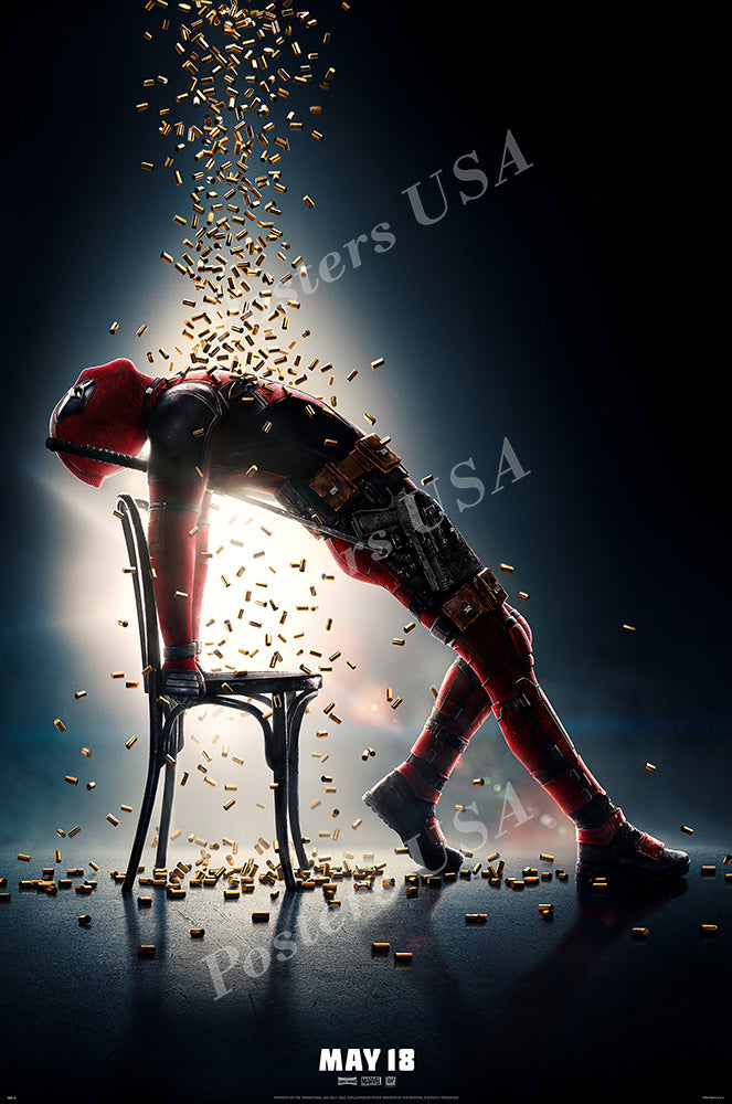 Posters USA - Marvel Deadpool 2 Movie Poster GLOSSY FINISH - FIL756