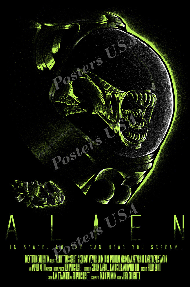 Posters USA - Alien Movie Poster GLOSSY FINISH - MOV008