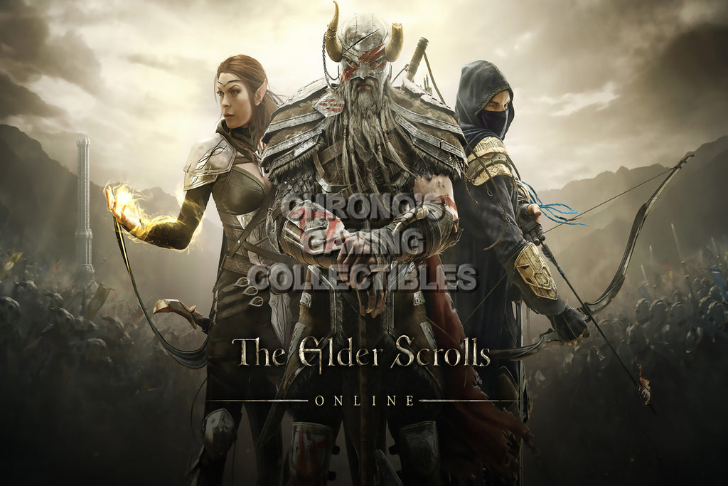 CGC Huge Poster - Elder Scrolls Online XBOX 360 ONE PS3 PS4 - EDS014