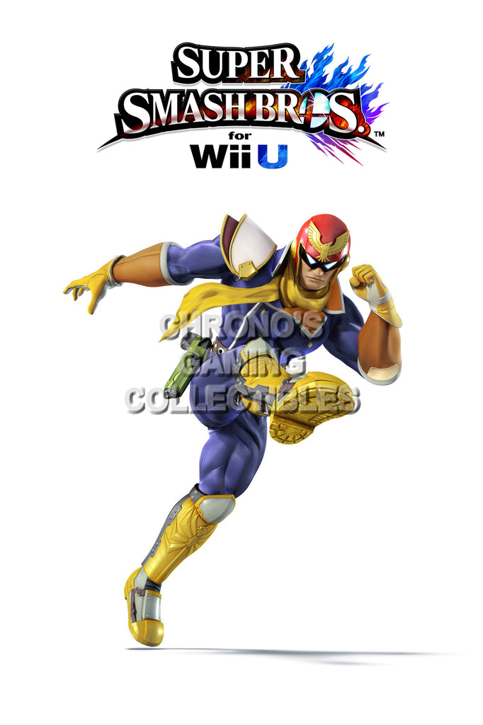 CGC Huge Poster - Super Smash Bros. Wii U 3DS Captain Falcon  - SMAC03