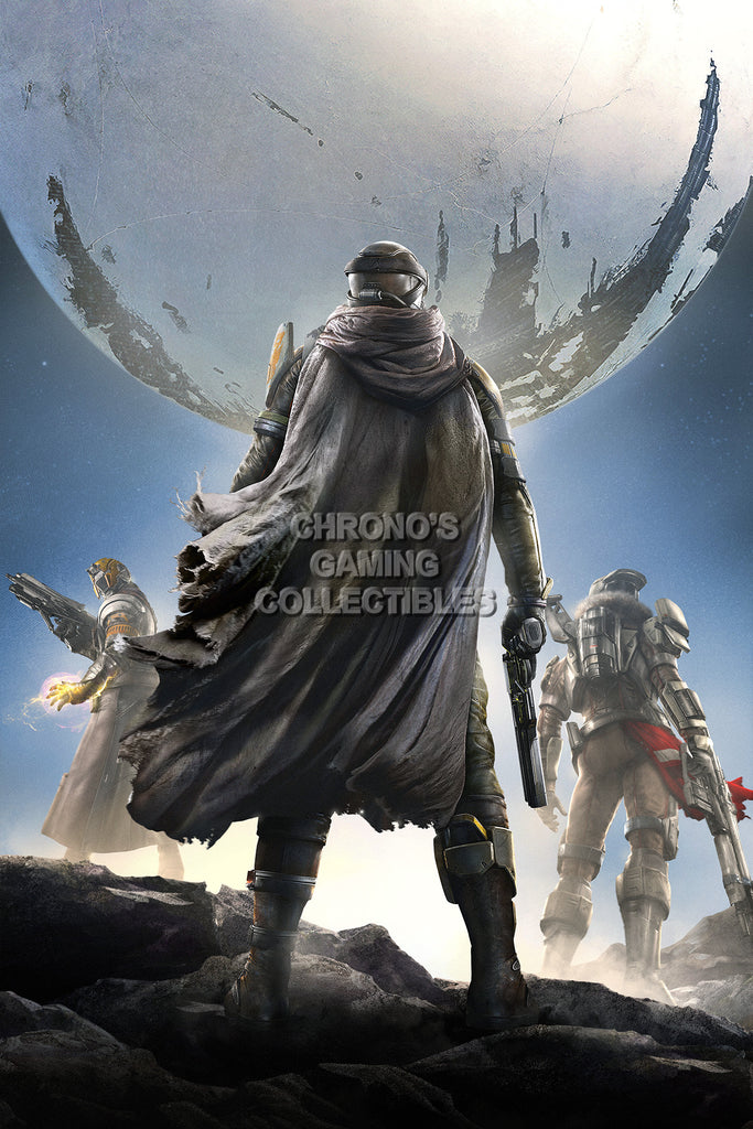 CGC Huge Poster - Destiny Cover Textless Sony PS3 PS4 XBOX 360 ONE - DES055