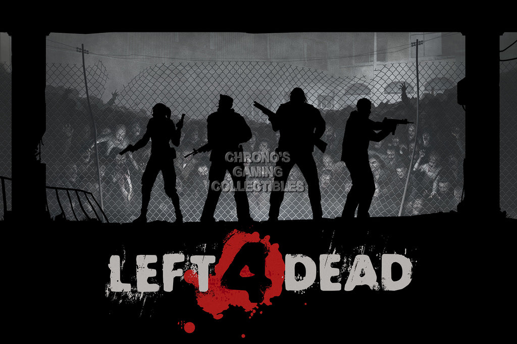 CGC Huge Poster - Left 4 Dead Strip XBOX 360 PC - L4D003