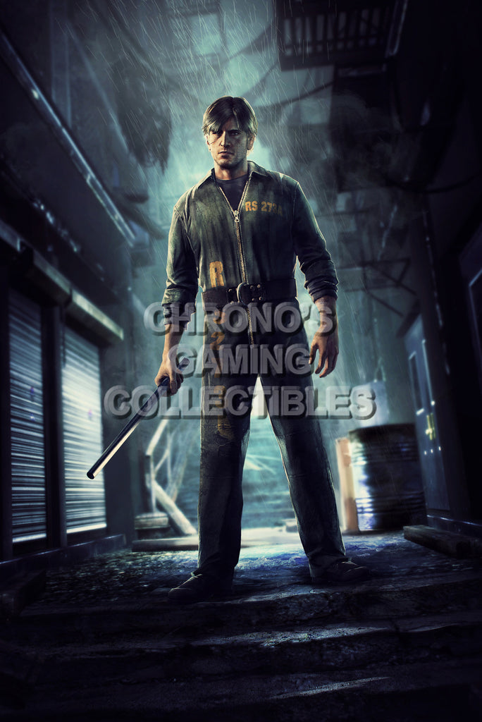CGC Huge Poster - Silent Hill Downpour Murphy Pendleton -  PS3 XBOX 360 - SIL007