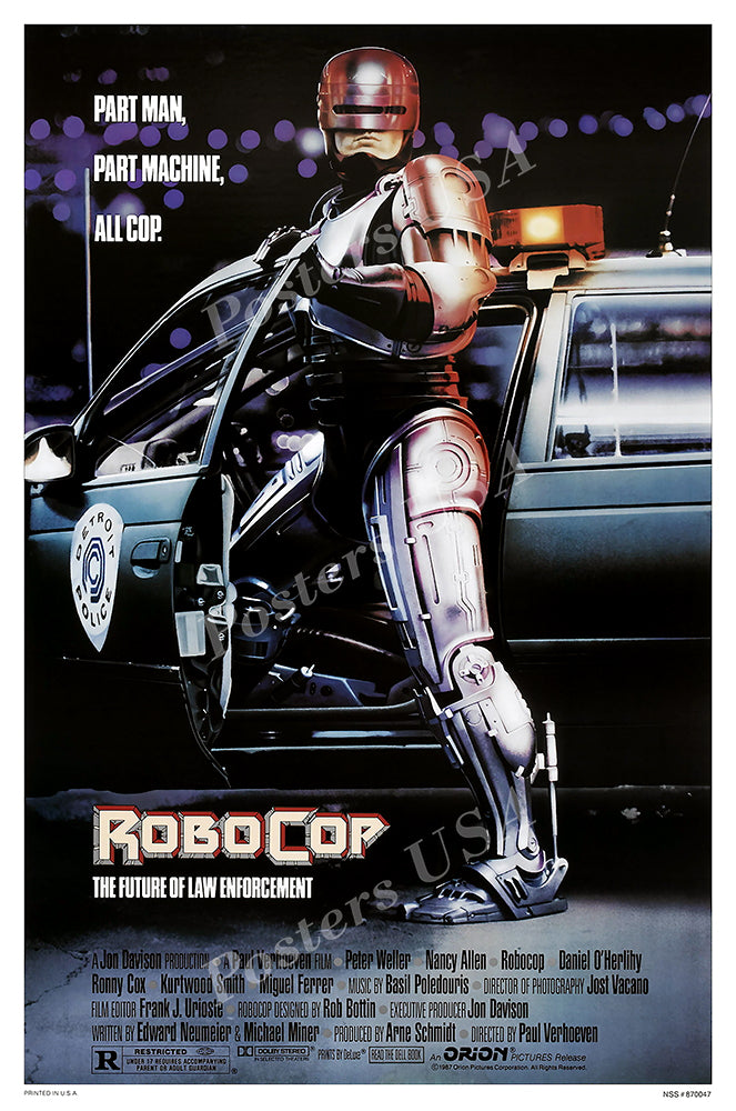 Posters USA - Robo Cop Original Movie Poster GLOSSY FINISH - MOV697