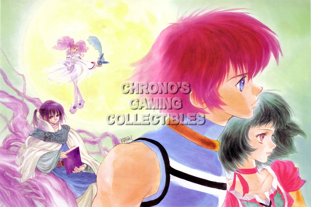 CGC Huge Poster - Tales of Eternia - Playstation PS1 PSX - TAL010