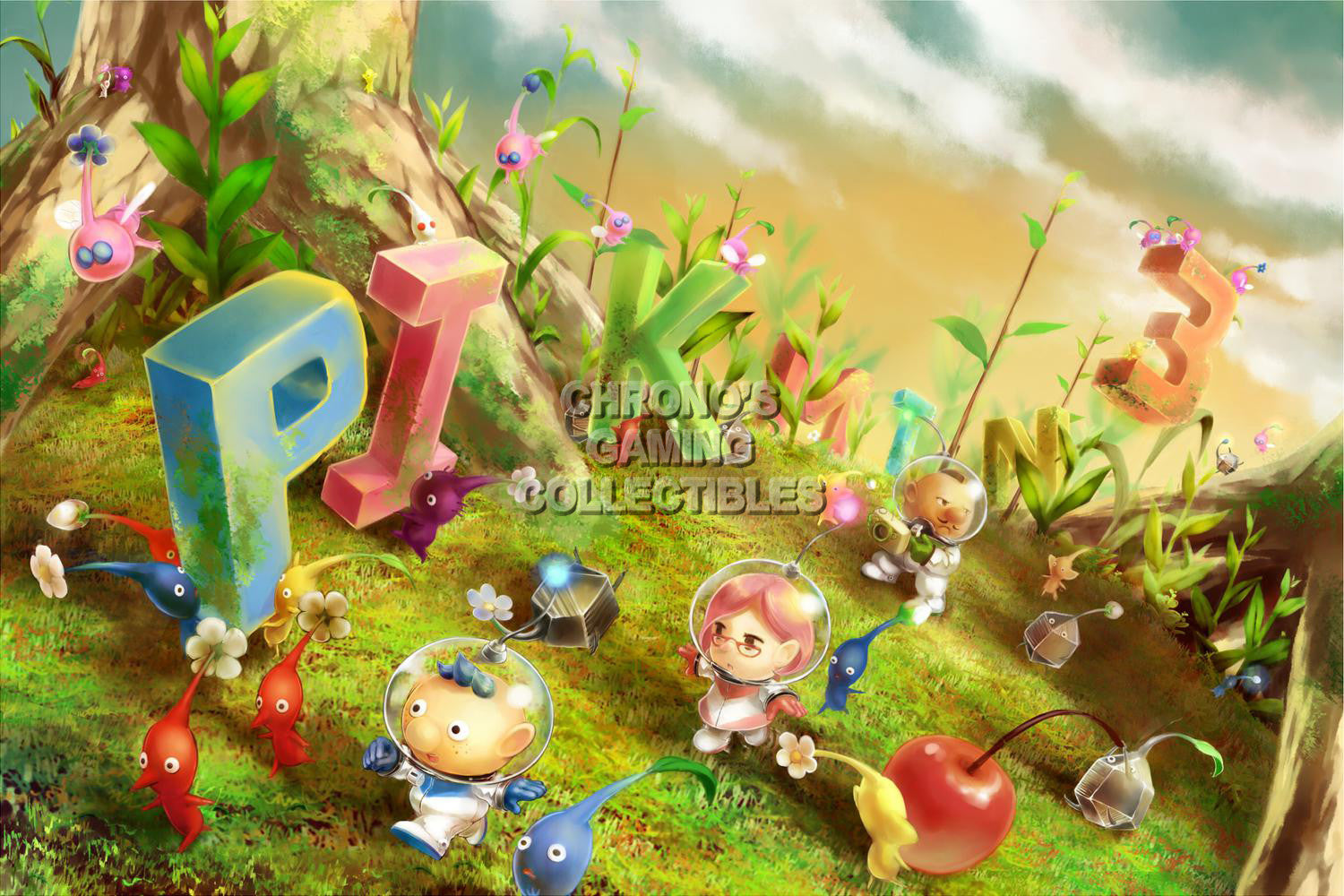 Pikmin Video Games Poster Cgcposters