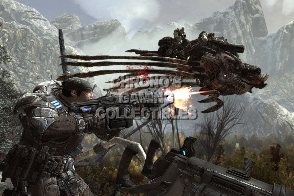 CGC Huge Poster - Gears of War Flying Reaver XBOX 360 - GAS009