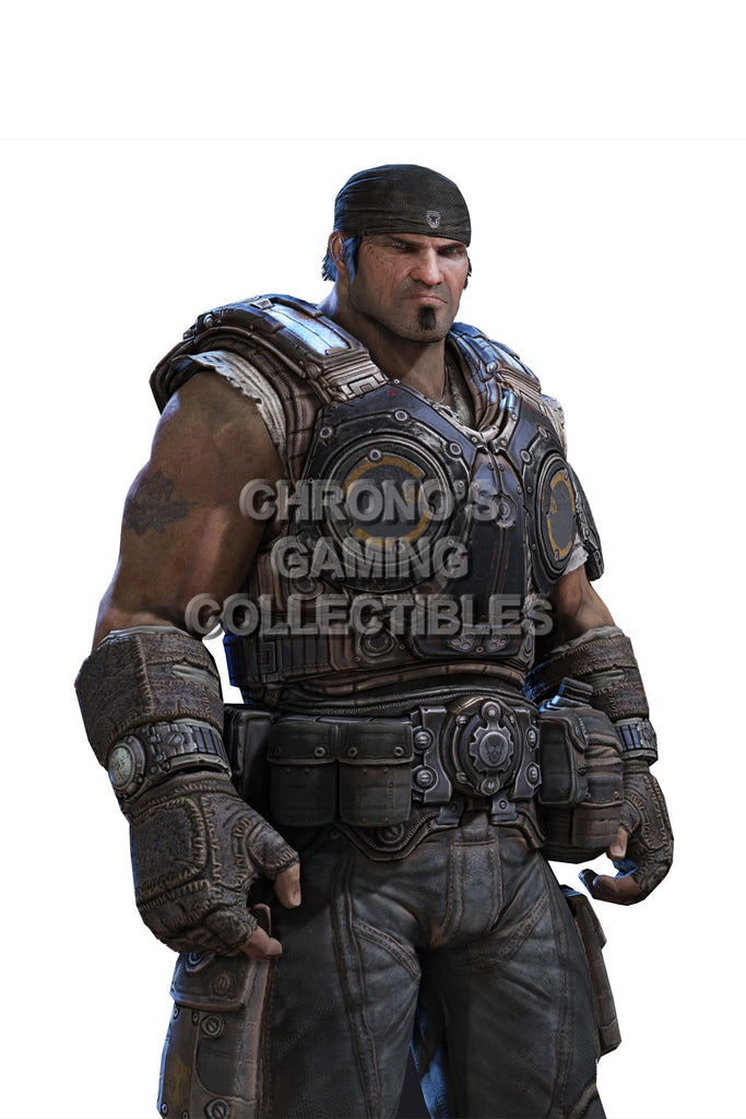 CGC Huge Poster - Gears of War Marcus Felix XBOX 360 - GAS006
