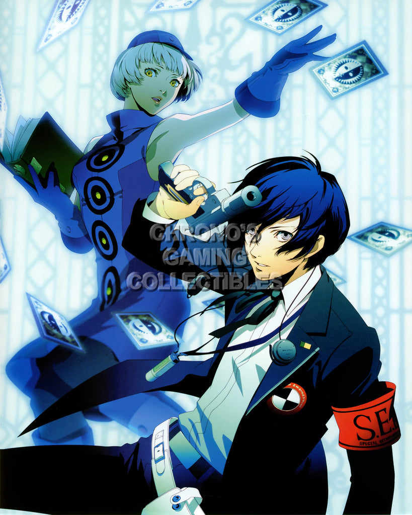 CGC Huge Poster - Persona 3 PS2 PSP - PER307
