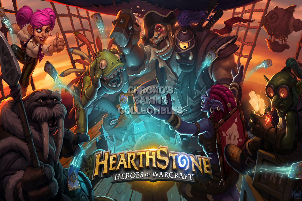 CGC Huge Poster - Hearthstone Heroes of Warcraft  - HEA013