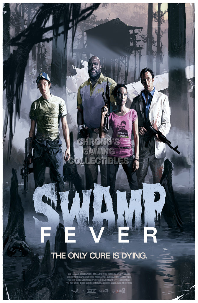 CGC Huge Poster - Left 4 Dead 2 Swamp Fever XBOX 360 PC - L4D007
