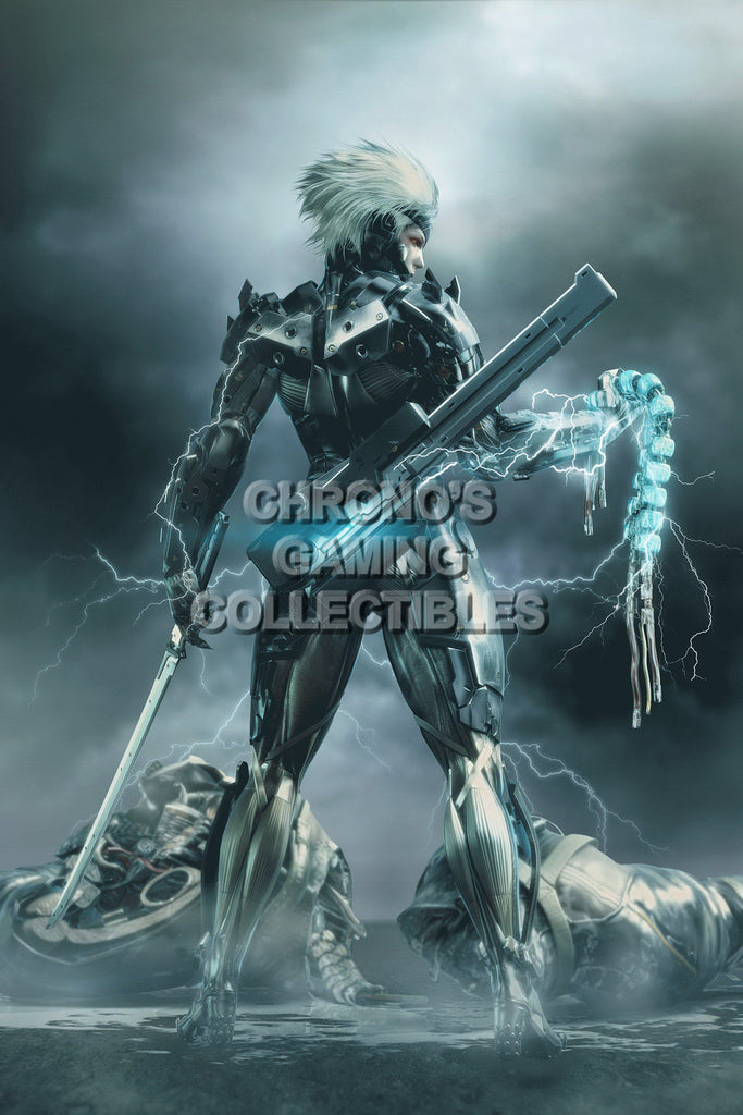 CGC Huge Poster - Metal Gear Rising Revengeance PS3 XBOX 360 - MGR008