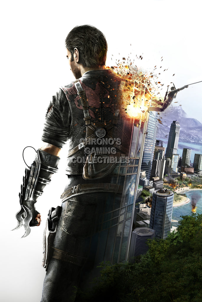CGC Huge Poster - Just Cause 2 PS3 XBOX 360 PC - JUS001
