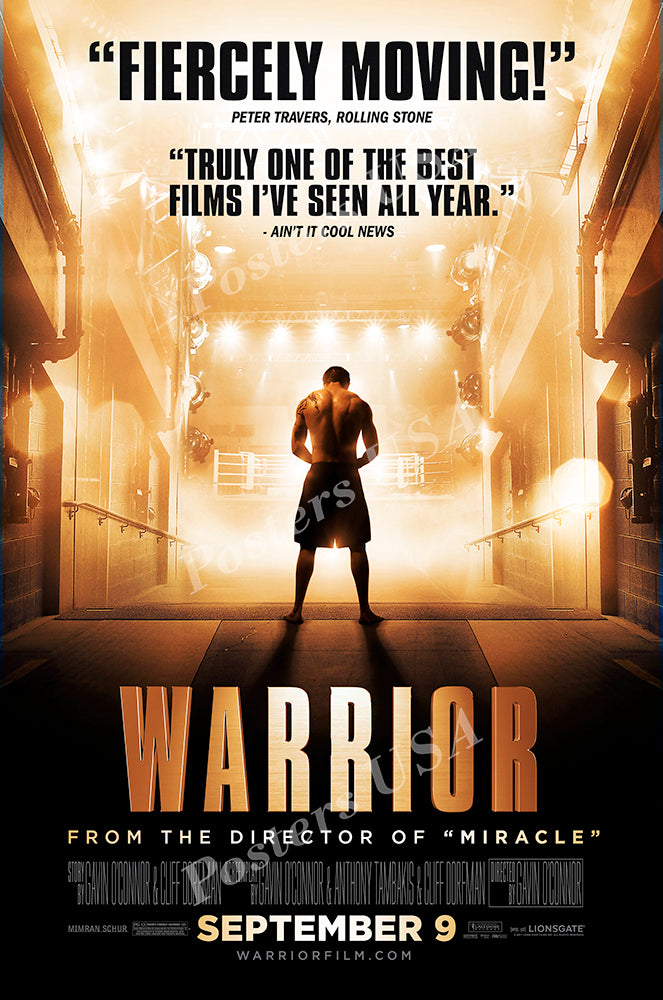 Posters USA - Warrior Movie Poster GLOSSY FINISH - MOV993