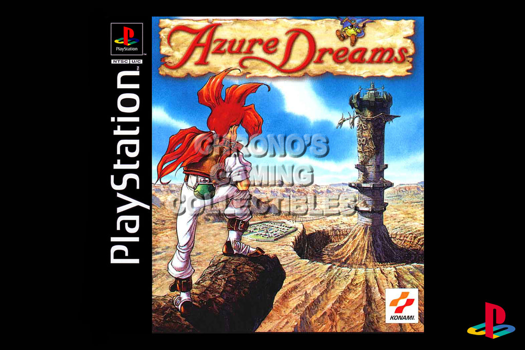 CGC Huge Poster - Azure Dreams - Playstation PS1 PSX - PSX004