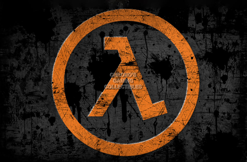 CGC Huge Poster - Half Life Logo - PS3 XBOX 360 PC - HLI001