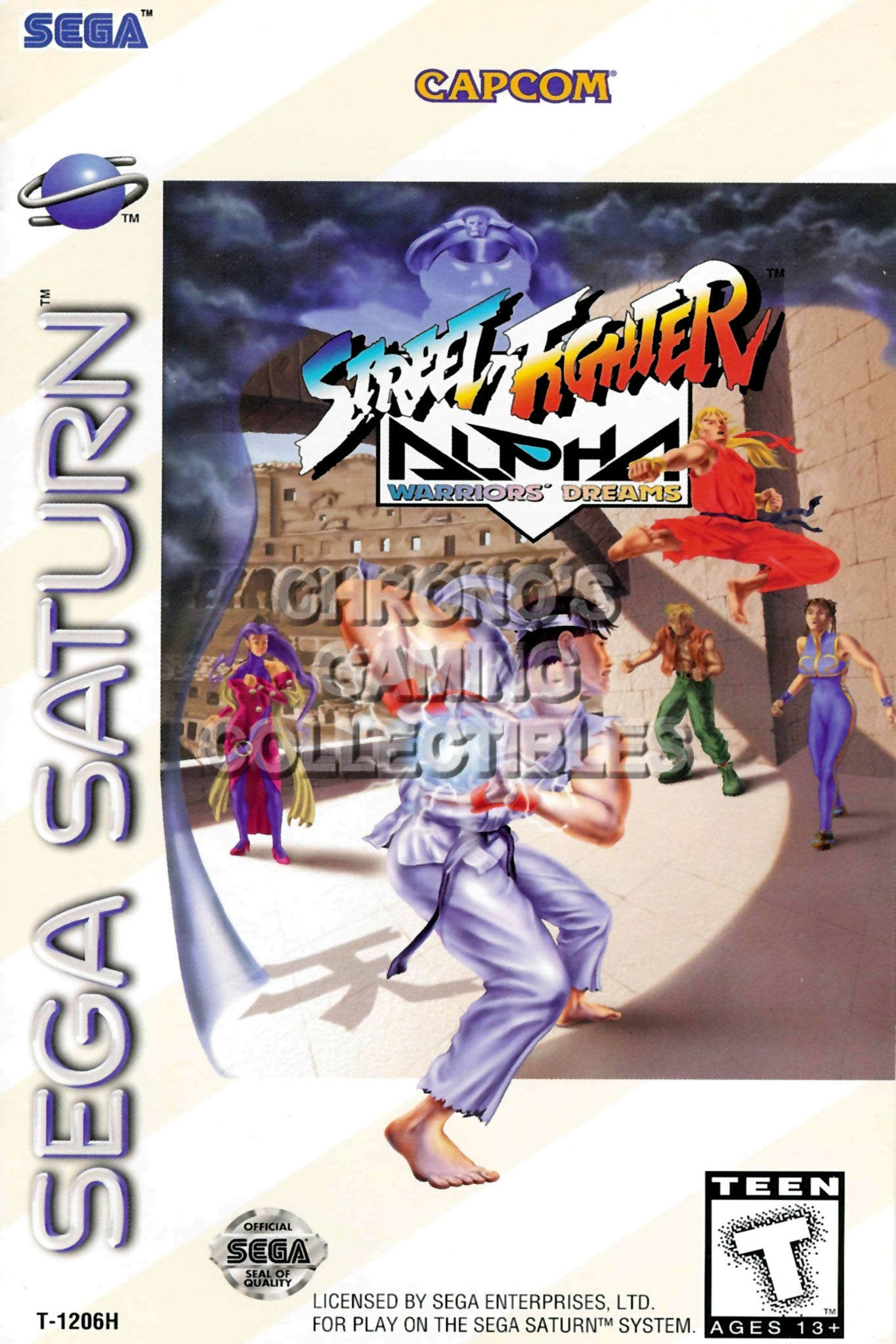 Sega Saturn Video Games Poster Cgcposters