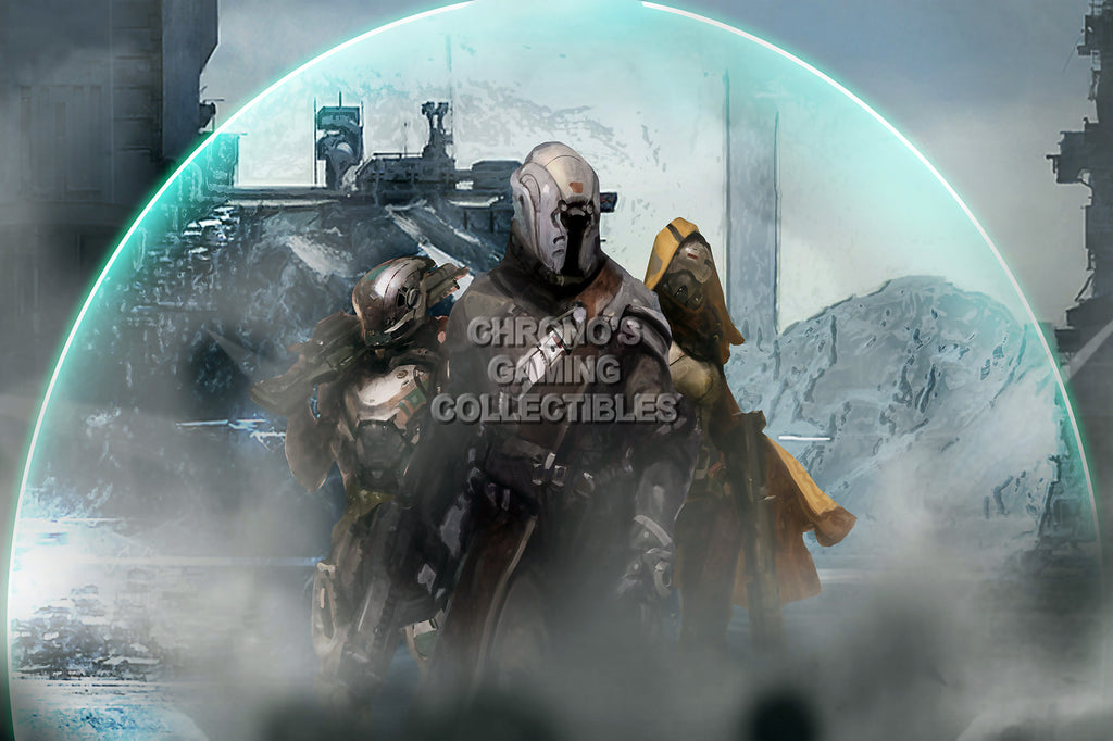 CGC Huge Poster - Destiny Concept Art Sony PS3 PS4 XBOX 360 ONE - DES054