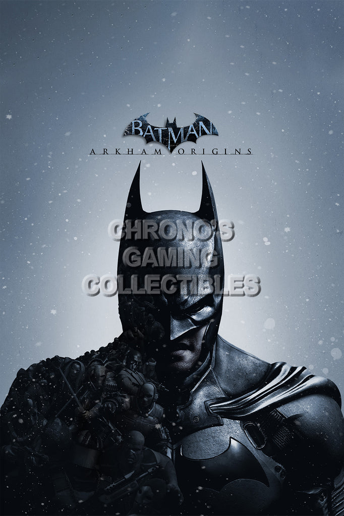 CGC Huge Poster - Batman Arkham Origins - PS3 XBOX 360 - BAT037