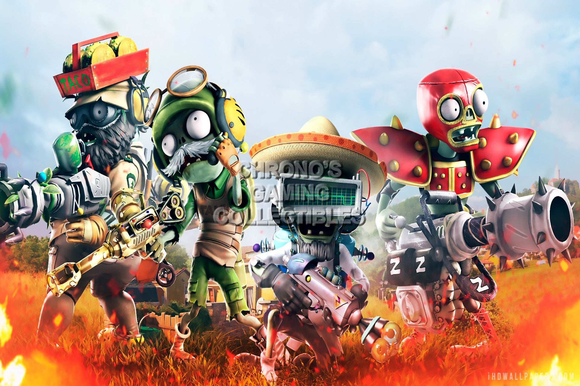 Plants vs. Zombies Garden Warfare 2 available free with ...