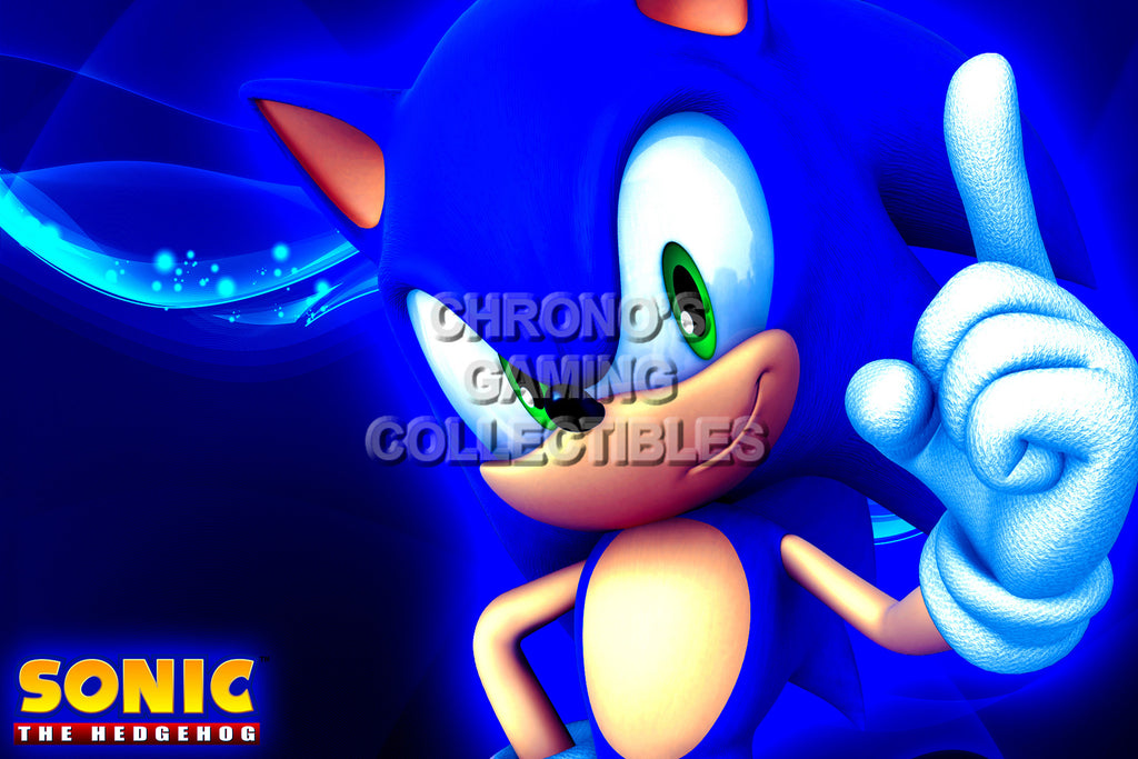 CGC Huge Poster - Sonic the Hedgehog - HD Art - SON027