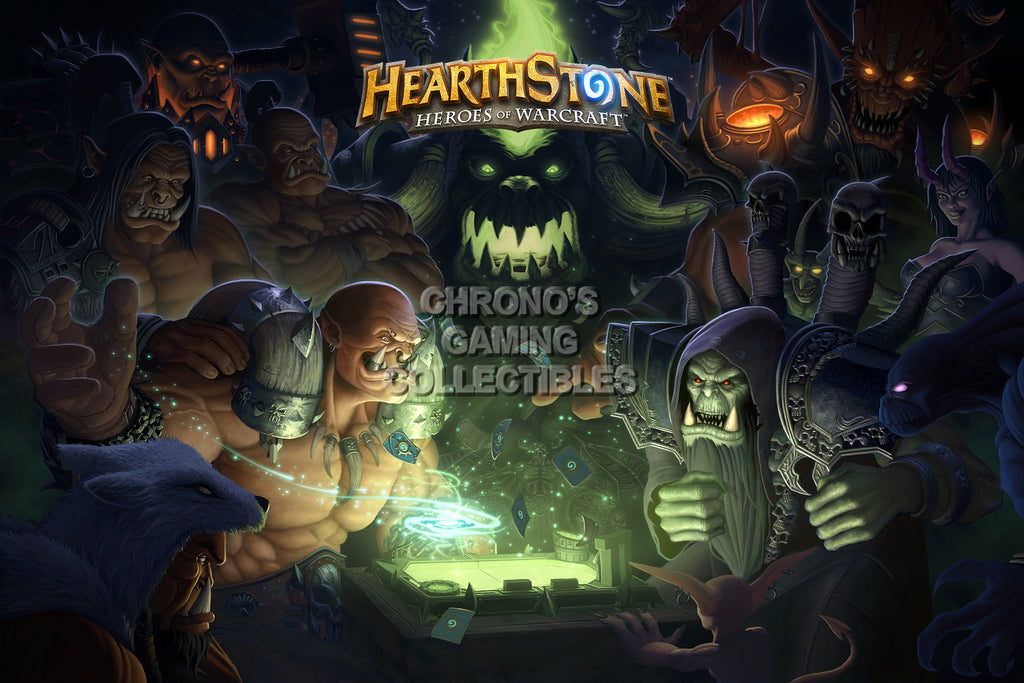 CGC Huge Poster - Hearthstone Heroes of Warcraft - HEA017