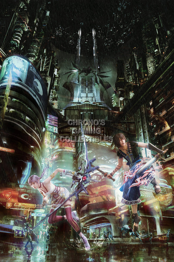 CGC Huge Poster - Final Fantasy XIII Lightning Returns PS3 PS4 XBOX 360 - FXIII012