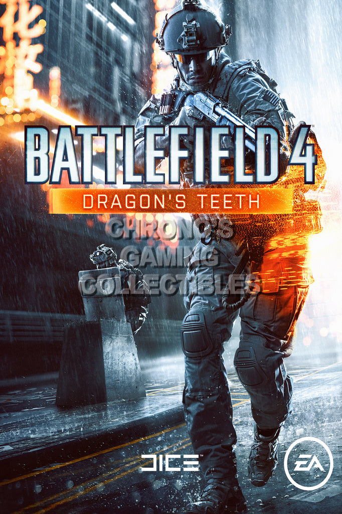 CGC Huge Poster - Battlefield 4 Dragon's Teeth - PS3 PS4 XBOX 360 ONE - BAF016