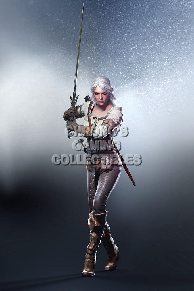 CGC Huge Poster - Witcher III PS4 XBOX ONE PC - Ciri  - WIT016