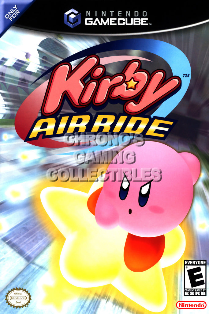 CGC Huge Poster - Kirby Air Ride - Nintendo GameCube GC - NGC022