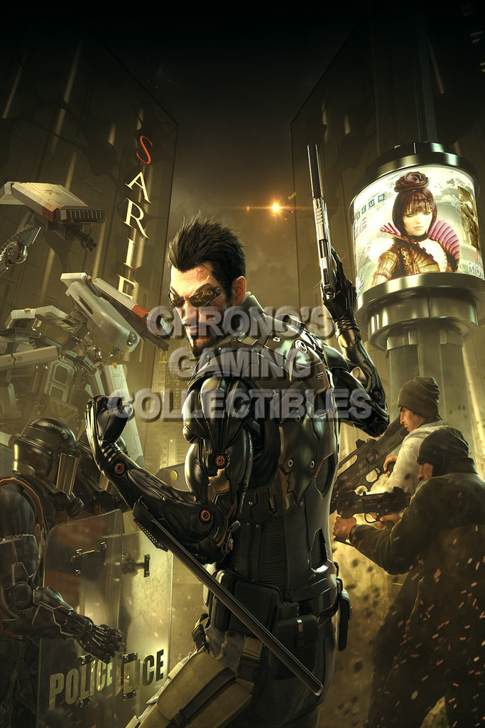 CGC Huge Poster - Deus Ex Human Revolution - PS3 PS4 XBOX 360 ONE - DEU001