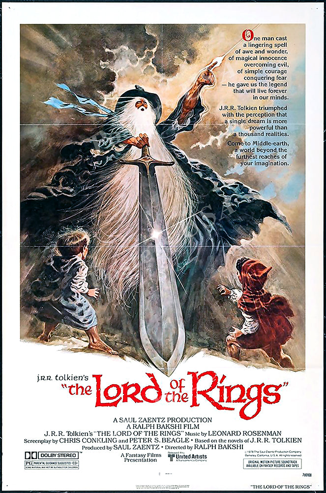 Posters USA - The Lord of the Rings Movie Poster GLOSSY FINISH - MOV148