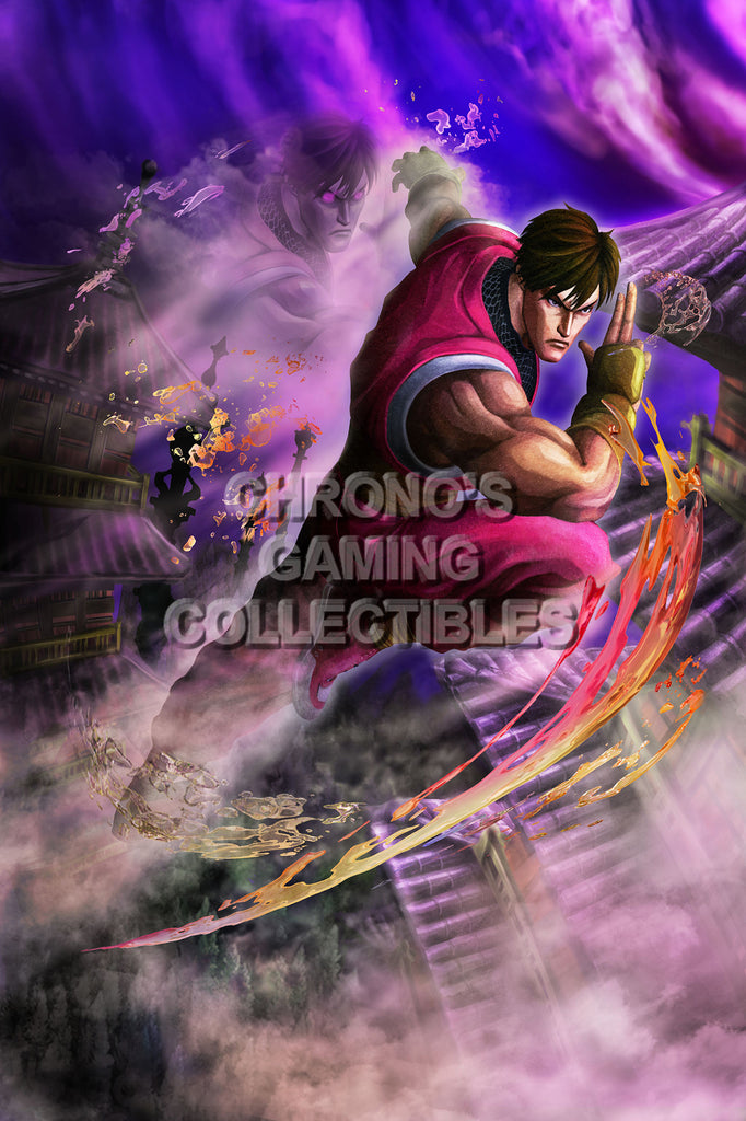CGC Huge Poster - Street Fighter IV  Guy - STR040