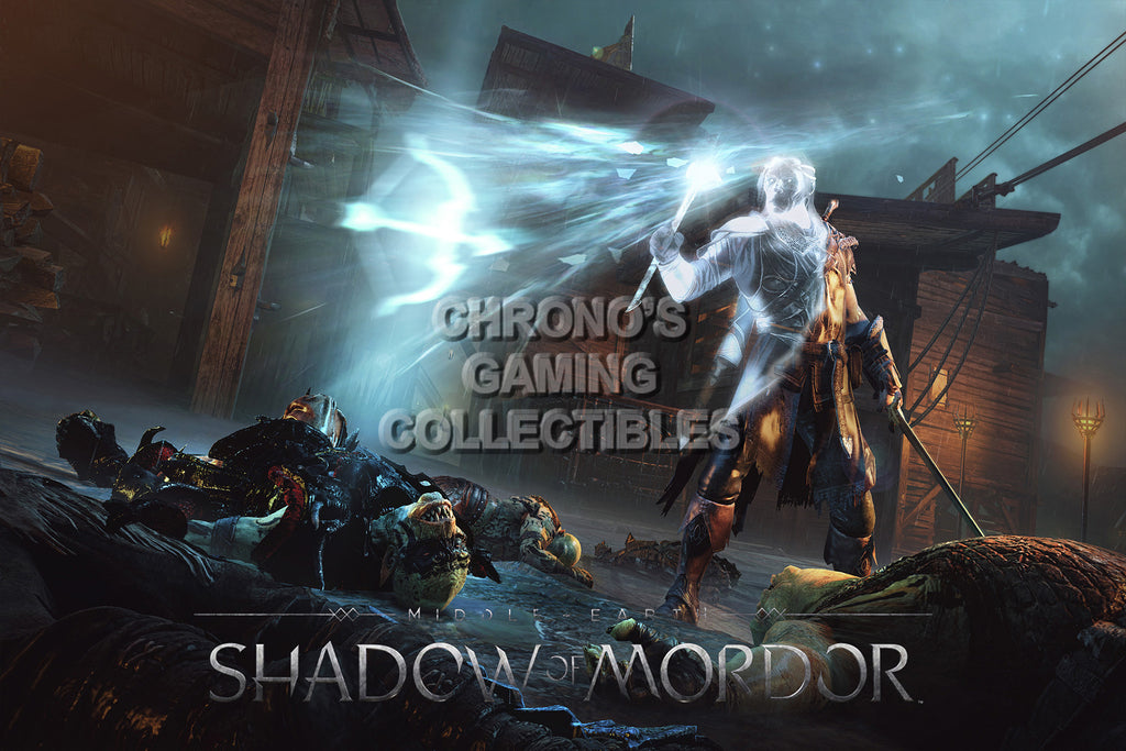 CGC Huge Poster - Shadow of Mordor - PS3 PS4 XBOX 360 ONE - SOM005