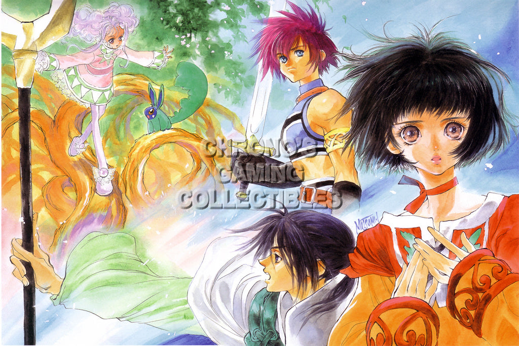 CGC Huge Poster - Tales of Eternia - Playstation PS1 PSX - TAL009