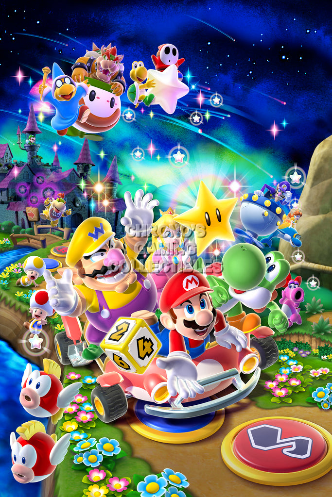 CGC Huge Poster - Mario Party 9 Nintendo Wii U - MAR029