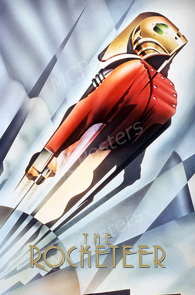 MCPosters - The Rocketeer GLOSSY FINISH Movie Poster - MCP909