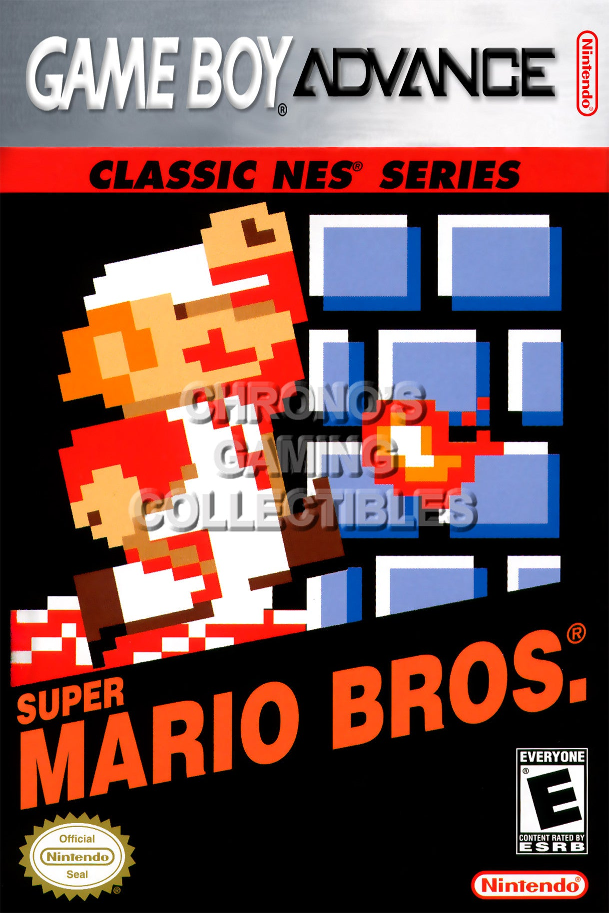 Classic Nintendo Game Boy Advance Video Games Poster Cgcposters