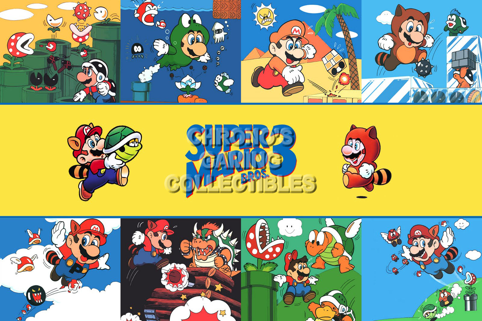 Mario Video Games Poster Cgcposters