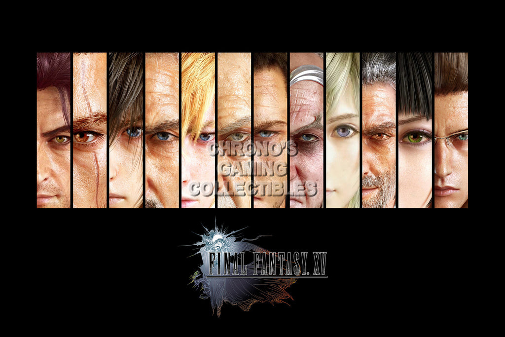 CGC Huge Poster - Final Fantasy XV - Characters - FFXV005